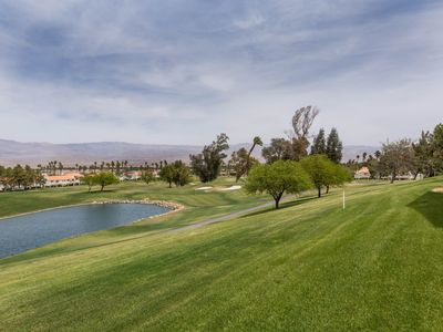 Photo for Cozy and comfortable with an amazing golf course, lake and mountain view
