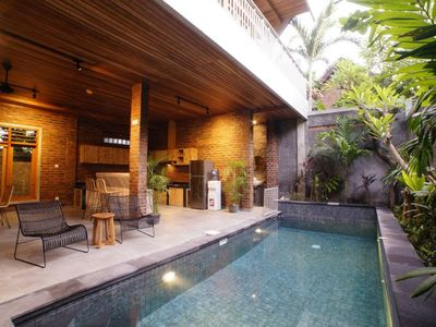 Photo for 3 BR Designer Villa, Private Pool, Great Location, 5 Mins from Oberoi Seminyak
