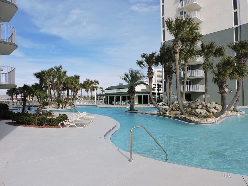 Exceptional 2 Bedroom 2 Bath Upscale Oceanfront Condo Remodeled Spring 2015 Panama City Beach
