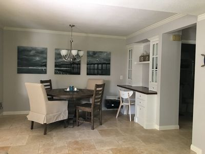 Photo for Beautiful One Bedroom Condo One Block From Sunset Beach!