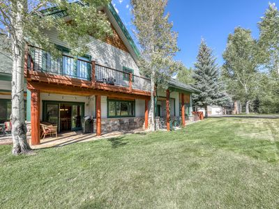Photo for NEW LISTING! Spacious mountain home near dining/shopping, bus to slopes!