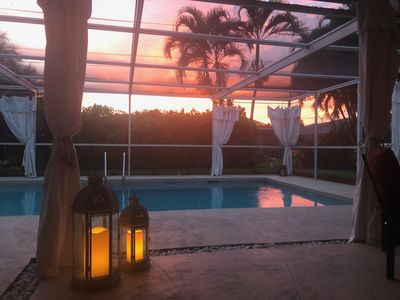Photo for North Naples House heated pool New Furniture & Minutes To Vanderbilt  beach