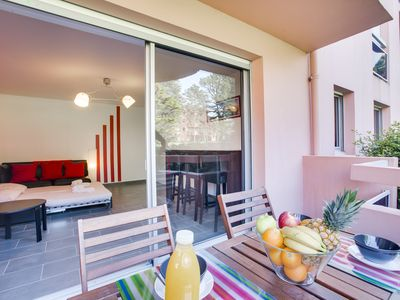 Photo for Cozy 1br flat close to the center of Biarritz