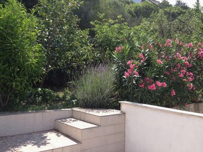 Photo for Two bedroom apartment with terrace and sea view Sveti Juraj, Senj (A-2399-b)