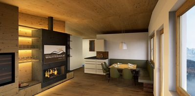 Photo for Holiday apartment right on the ski slope with sauna, whirlpool and large garden
