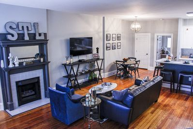 Private Luxury Apartment in St. Louis City.