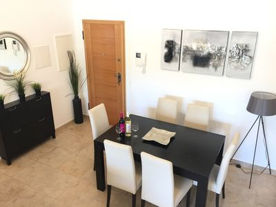 Photo for Stylish apartment in Porto de Mos near spectacular golden sand beaches