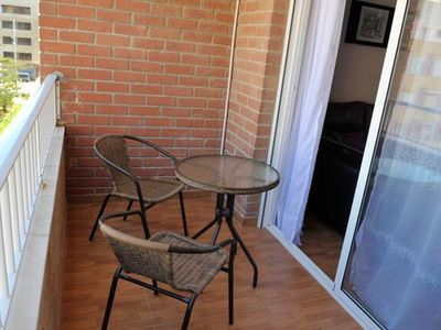 Photo for Homerez last minute deal - Nice apt with balcony and Wifi