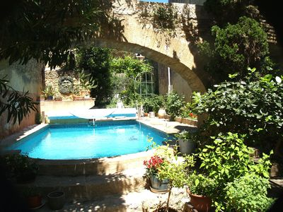 Photo for Artist's house in historic village 3km from Pont du Gard