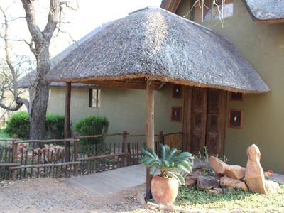 Photo for Luxury holiday villa in safari style, on the border of the Kruger Park