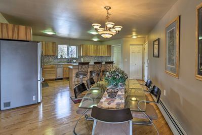 This 2-bedroom, 2-bathroom home sleeps 4 guests and provides modern comforts.