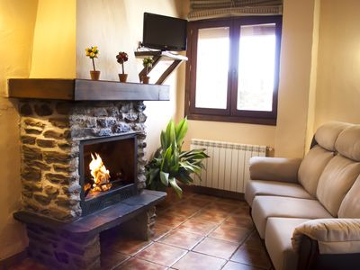 Photo for Beautiful apartment with fantastic views, heating, fireplace and free WiFi