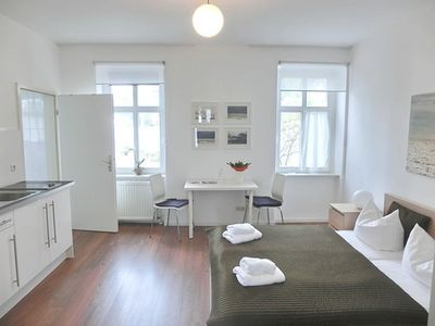 Photo for Apartment 2 - Sassnitz - Apartments in bath villa with Baltic Sea view