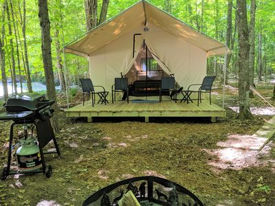 Photo for Glamping Luxury Tent #14 - Glamping in Style on a Lake Resort