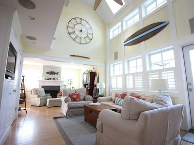 Photo for Pottery Barn Beach House - IMMACULATE COASTAL HOME - 4 beds PLUS GUEST SUITE!