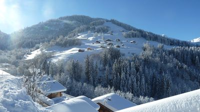 Photo for Ski on foot at 80m, stunning views, terrace of 70 sqm, 8 to 12 people