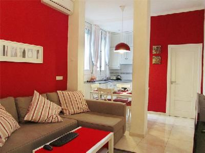 Photo for Nice two-room apartment in the center of Madrid with large or