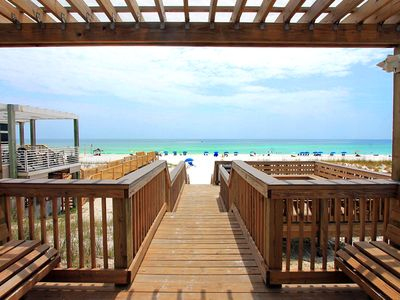 Photo for Chateau La Mer 12D-2BR☀GR8 RATES-Sep 6 to 8 $447 Total! ☀Pool! 165yds to Beach!