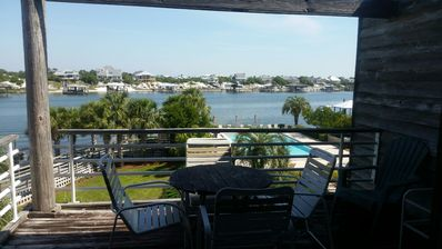 Photo for Heaven on Ole River!  1.5 Br 1Ba Waterview
