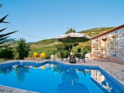 Photo for Countryside villa w/ pool + outdoor terrace, short distance from village