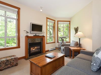 Photo for Cozy Condo in Whistler Village Close to Everything with Fireplace