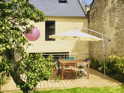 Photo for La Bella Spiaggia, charming cottage in Normandy 500m from the sea and beaches