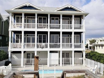 Photo for A Great Escape: Oceanfront, Pool, Elevator – Amazing House, Great Location!