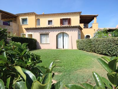 Photo for TANCA DI LADAS - Three-room apartment, air conditioning, garden and swimming pool