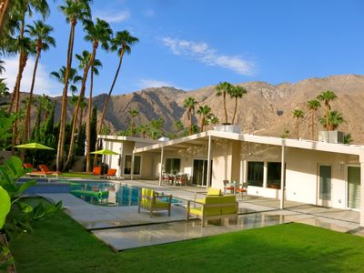Photo for The 28 Palms Oasis: A Stunning Home With Breathtaking Mountain View