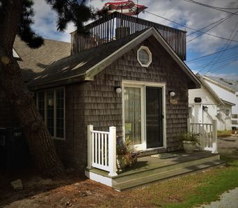 Photo for Private Cottage Steps to the Beach-just four homes back from the dunes & ocean