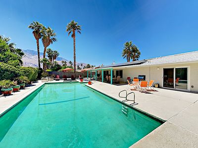 Photo for New Listing! Luxe Oasis in Prime Locale w/ Pool & Hot Tub; Mountain Views