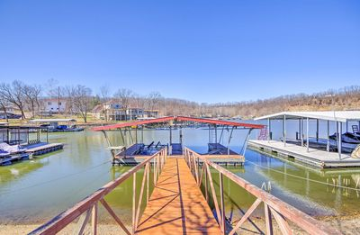 Photo for NEW! Waterfront Lake of the Ozarks Cabin w/ Dock!
