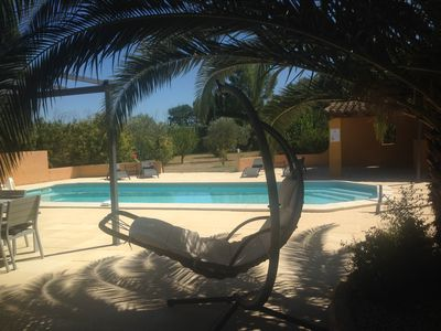 Photo for SUPERB CONTEMPORARY VILLA 8/10 pers Heated pool