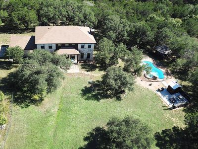 Photo for RETREAT NEXT TO FLAT CREEK WINERY, Pool,Lake access,Outdoor Kitchen, Fire Pit