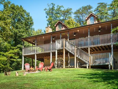 Photo for Near Pigeon Forge, Secluded,FREE Area Attraction Tickets.