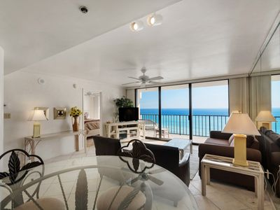 Photo for One Seagrove Pl 607 - Gulf Front Condo - Free Beach Chairs