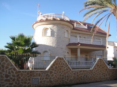 Photo for Large villa with private pool 50 meters from the beach