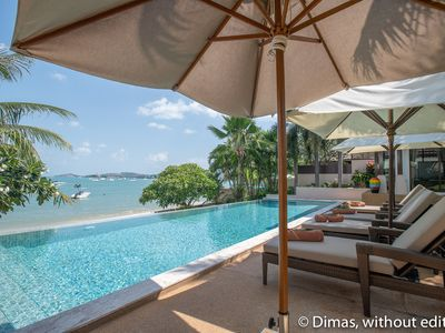 Photo for Beachfront 3Bed Villa