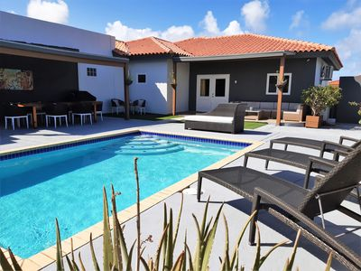 Photo for GREAT VILLA, BBQ, private pool, privacy, clean, airconditioning, hot water, wifi