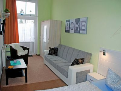 Photo for 12: 38 m², 1-room, 4 pers., Terrace, WL - F-1102 The holiday home on the Baltic Sea beach