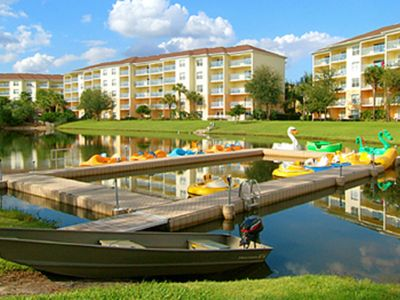 Photo for 1 BDRM~ LIKI TIKI VILLAGE~WATERPARK~LAKE~FISHING~PADDLE BOATS~GROCERIES & MORE