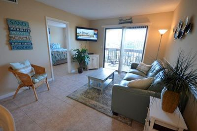 Family Room with Foldout Couch