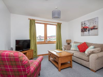 Photo for Riverside apartment for 2 in Inverness.