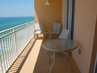 Photo for Stunning 15th Floor Views! Exclusive On Site Staff & Perks- FREE BEACH SERVICE 2019!