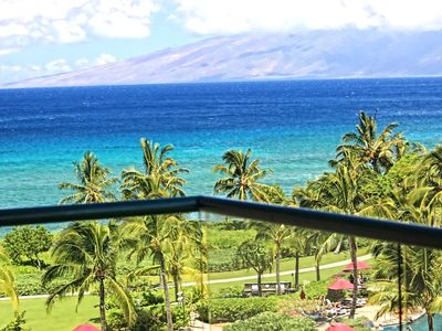 Photo for K B M Hawaii: Ocean Views, Incredible Luxury 2 Bedroom, FREE car! Jan Specials From only $251!