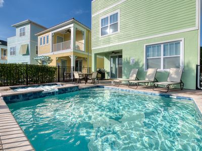 Photo for Smooth Sailing near Disney! Hotel Amenities, Private Pool, Daily Housekeeping