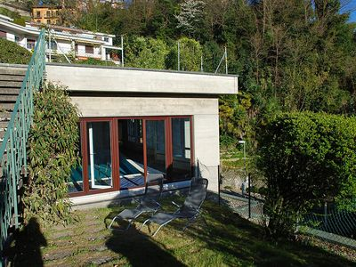 Photo for Apartment 753 m from the center of Lugano with Internet, Pool, Balcony (319195)