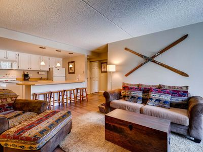 Photo for Rates Reduced! Ideal Breck Location, Garage Parking, Heated Pool Access, Wi-Fi