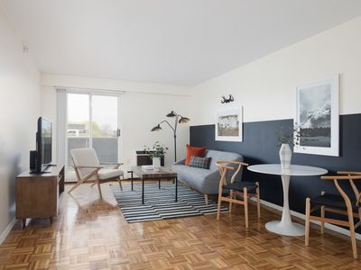 Photo for Sonder | JFK Historic Site | Artsy 1BR + Balcony