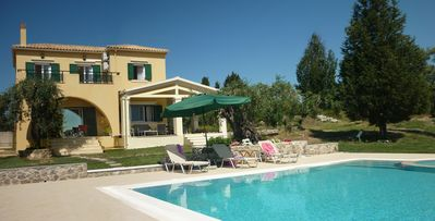 Photo for Villa Mayroula - Peaceful Location, Large Pool, Paddling Pool, WiFi